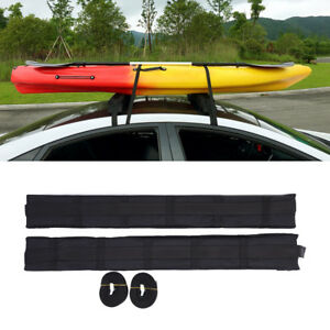 Universal Car Roof Top Cargo Storage Rack Soft Canoe Surfboard Luggage Carrier