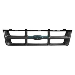 New Front Grille Silver Black Fits 1993 1994 Ford Ranger Fo1200185