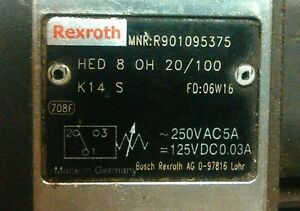 Hed 8 Oh 20 100k14 Hydro electric Piston Type Pressure Switches Hed8oh 20 100k14