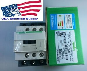 New Schneider Lc1d18g7c Contactor With Coil 120vac 50 60hz