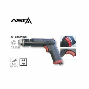A 6212n kr Pneumatic Drill Pistol Grip 1 2 13mm 800 Rpm Keyed Air Powered