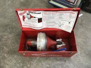 Milwaukee 0566 1 Heavy Duty Electric Drain Cleaner Snake
