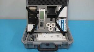 Abbott I stat Portable Blood Analyzer System Simulator Mint Cond With Extras