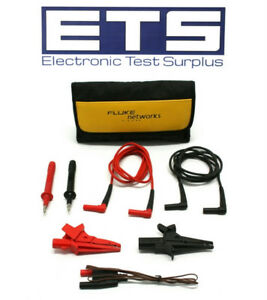 Fluke Ideal Dmm Digital Multimeter Test Lead Kit Tl224 80bk a
