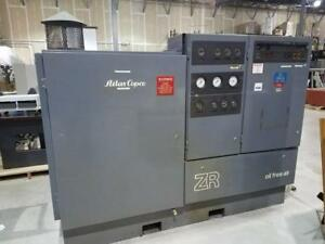 Atlas Copco Oil Free Air Compressor Model Zr