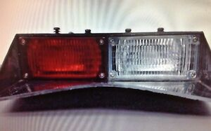 Galls Deck Mount Style Dual R w Lights No Mount