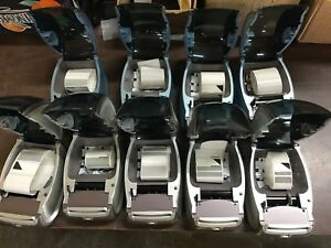 s6b Lot Of 9 Dymo Printers 5x400 Turbo 4x400 All Missing Rollers For Parts