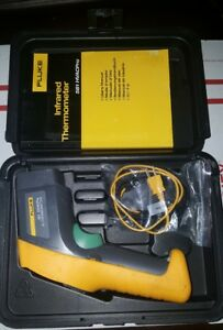 Fluke 561 Ir Thermometer With Case Manual free Shipping
