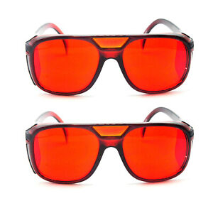 2pcs 532nm Laser Safety Glasses Protective Goggles For Green Lazer Protection W