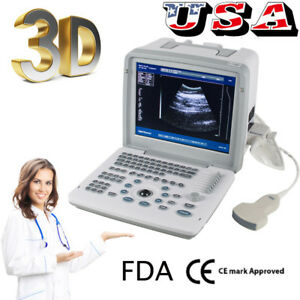 Professional 3d Portable Full Digital Ultrasound Scanner Machine 3 5convex Probe
