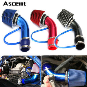 Hot Universal Car Cold Air Intake Filter Alumimum Induction Kit Pipe Hose System