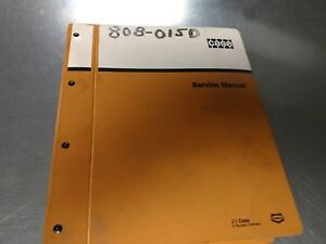 Case 580 Super K Loader Backhoe Service Manual