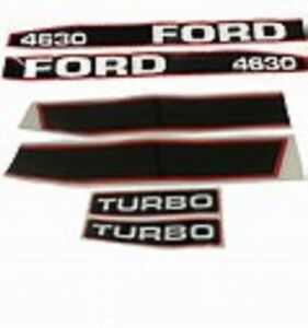 Ford Tractor Decal Set 4630 Turbo Or Standard Stickers 1115 1591