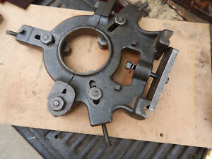 Older Metal Lathe Steady Rest Possible Pratt And Whitney Jig Fixture