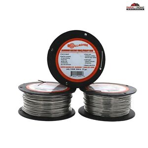 3 Aluminum Electric Wire Fencing 17 Gauge New