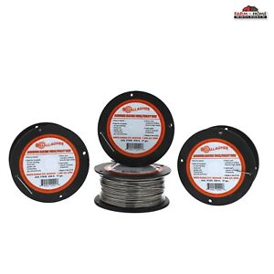 4 Spools Aluminum Electric Wire Fencing 17 Gauge New