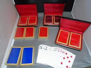12 Decks Kingsley Hot Foil Blank Playing Cards 3 Cases Ready For Printing