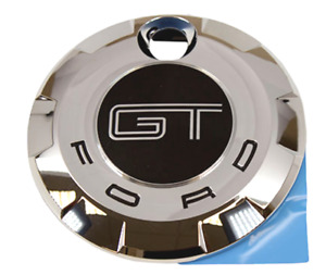 Ford Oem 05 2009 Ford Mustang Gt Rear Trunk Decklid Gas Cap Chrome 7r3z6342528ba