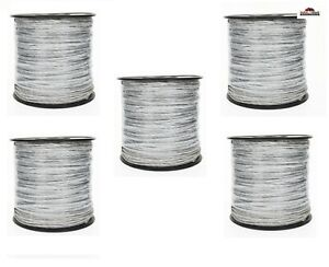 5 Electric Fence Wire Polywire 656 Ft New