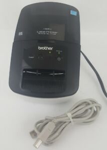 Brother High speed Label Printer Ql 710w Wifi Or Usb Includes Printer Cable