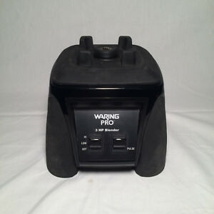Waring Xtreme Commercial 3 Hp Blender Mx1000r Mx1000xt11 base Only