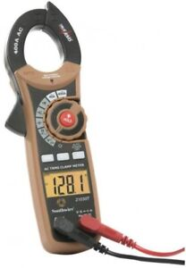 New Digital 600 Volt Clamp Meter 400 Ampere Ac Current True Rms Electric Tester