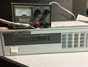Hp Hewlett Packard 6218a Variable Dc Power Supply 50v 200ma Load Tested