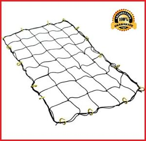 Universal Carrier Top Nets Cargo For Car Roof Rack Trunk Truck Pickup Strap New