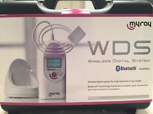 Myray Wds Wireless Dental Digital X ray System 2 Sensor Software New