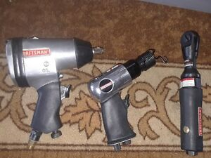 Craftsman Pneumatic 1 2 Inch Drive Impact Wrench impact Hammer 3 8ratchet Wrench