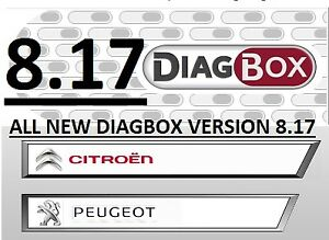 Diagbox 8 17 Software Install Service Lexia 3 Peugeot Planet citroen Diagnostic
