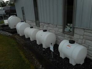 Poly Plastic Storage Tanks Many Sizes But This Is For A 125 Gal Horizontal Leg