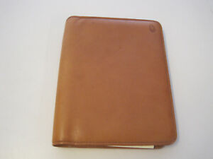 Hartmann Belting Leather Address Book day Planner Guc