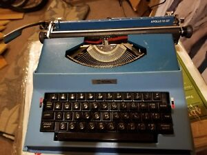 Royal Apollo 12 gt Portable Electric Typewriter Clean Working