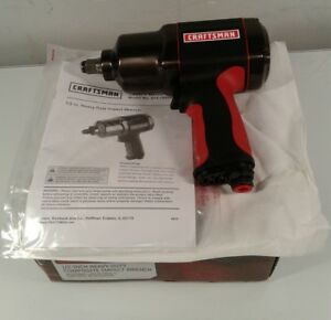 Craftsman 19984 Composite Impact Wrench 1 2 Drive New Open Box