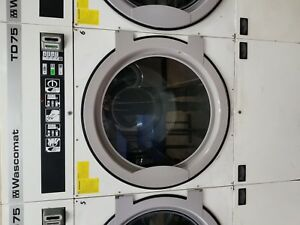 Wascomat Td75 Commercial Dryers Gas 120v