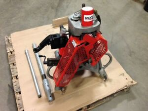 Good Used Ridgid 920 Roll Groover 2 To 24 Capacity Sch 10 40 For 300 95782