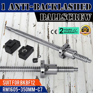 1 Set Anti backlash Ballscrew Rm1605 350mm c7 Professional Cnc Router Durable