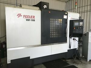 Feeler Vmp 1100 Cnc Vmc 10000rpm Ct40 Big Plus 43 X 24 30 Tool 2011 2854 Hours
