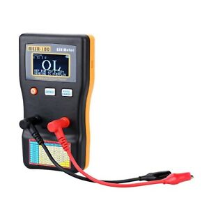 Auto Ranging 100khz In Circuit Capacitance Esr Meter Capacitor Low Ohm Tester