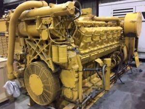 Caterpillar 3512 1000kw Diesel Generator Set