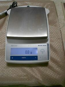Mettler Toledo Pb8001 s face Balance Scale W Power Adapter 8100 0 1g Excellent