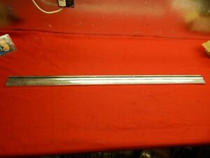 Used 67 Ford Galaxie 500 Rh Or Lh Lower Front Door Moulding c7az 6320878 a