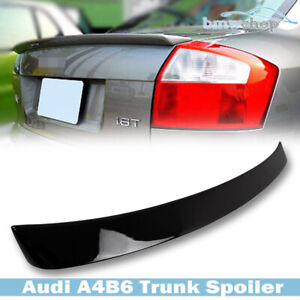 Painted For Audi A4 B6 Sedan 4d Abt typetrunk Spoiler Rear Wing 02 05 Boot ly9b