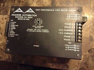 Anaheim Automation High Performance Step Motor Driver Dpt10001 24 220