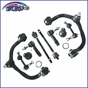 Front Upper Control Arms Tie Rod Fits 2004 2005 2006 Ford Expedition Navigator