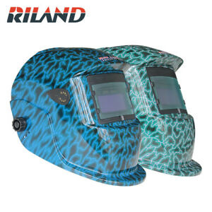 Riland Solar Auto Darkening Welding Helmets Welding Mask eyes Mask For Welding