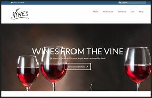 Fully Stocked Wines Website free Domain hosting traffic make Money In 24 Hours