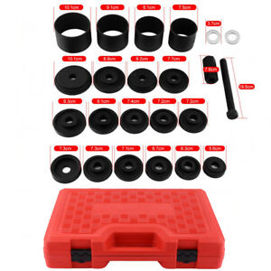 23pcs Carbon Steel Front Wheel Drive Adapters Bearing Removal Installation