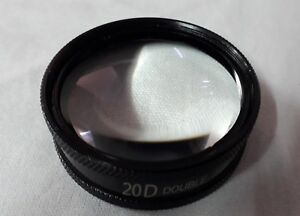 20d Double Aspheric Lens Slit Lamp Lens Ophthalmology Optometry